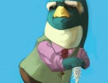 ペンギンおじいちゃん
