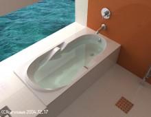 sea side bath