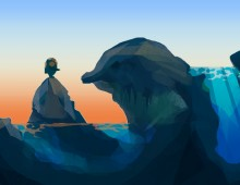 Concept Art of Diver